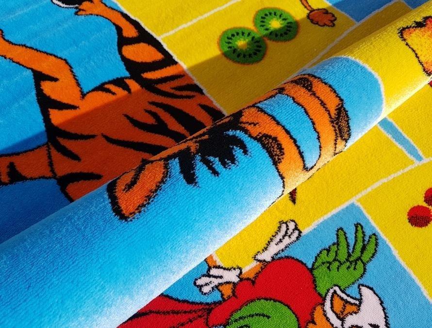 Dywan Do Przedszkola Kinder Colorful 92 Nie Kolekcja